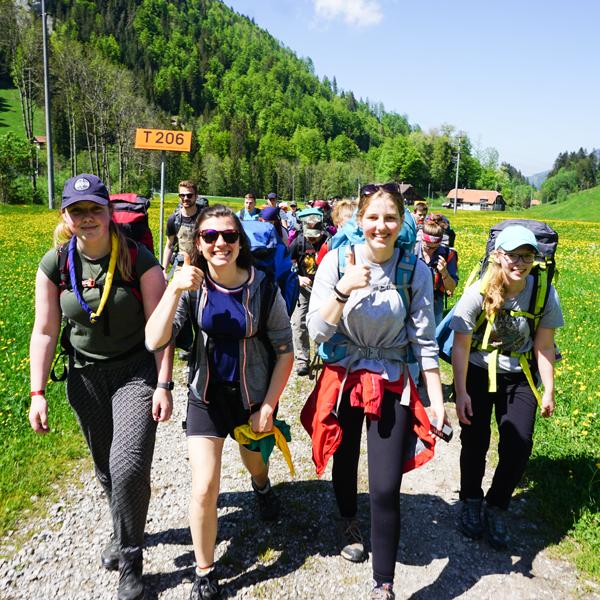 Cevi Region Bern, Ausbildung und Begleitung, Bild - LeiterInnenkurs