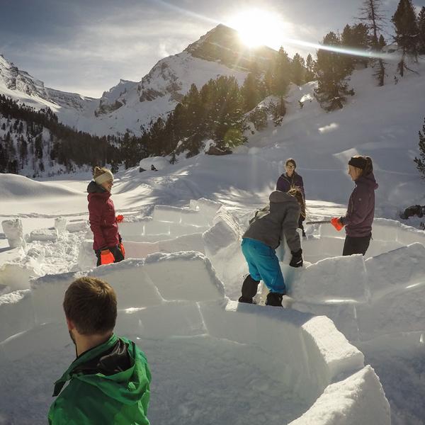 Cevi Region Bern, J+S Sicherheitsmodul Winter