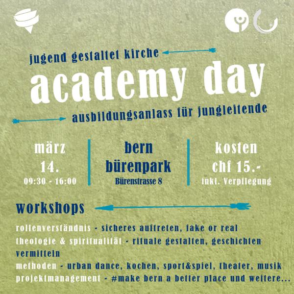 Cevi Region Bern, academy day