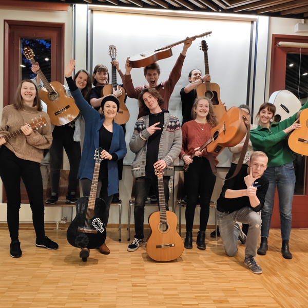Cevi Region Bern, Kursangebot, Gitarrenkurs